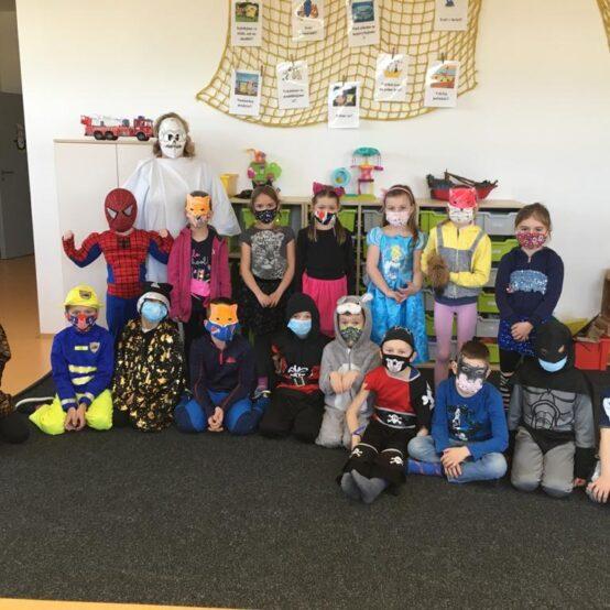 Maškarní karneval ve školní družině